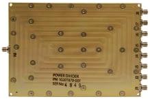 Broadband Wilkinson Combiner_Divider 6and8 Way