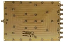 Broadband Wilkinson Combiner_Divider 6and8 Way