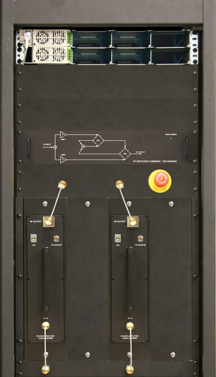 LS-Band Low Power Amplifier System 400W