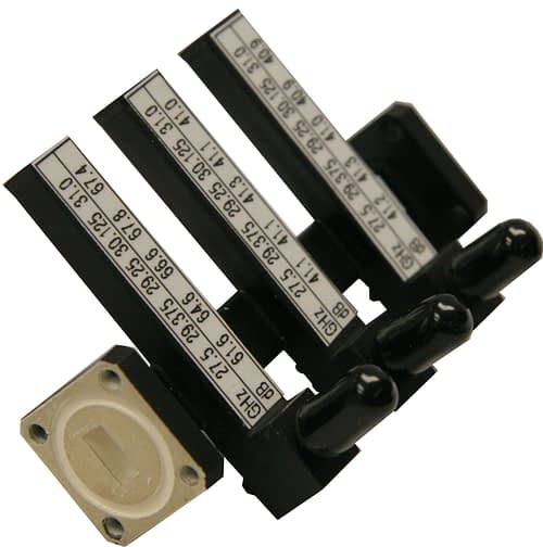 Triple arm waveguide couplers