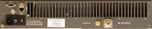 MMDS-Band Medium Power Amplifier with BUC DMPA 2600-I back